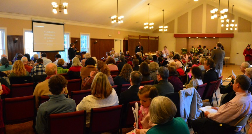 New Vestry Members Elected At the Annual Parish Meeting January 27, 2019