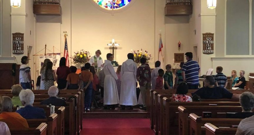 Family Service With Annual Blessing of the Back Packs
