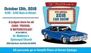 Car Show Archives St Matthews Episcopal Church - Car show sponsorship levels