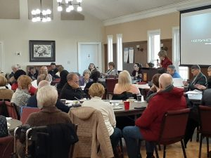 Annual Parish Meeting Election Results